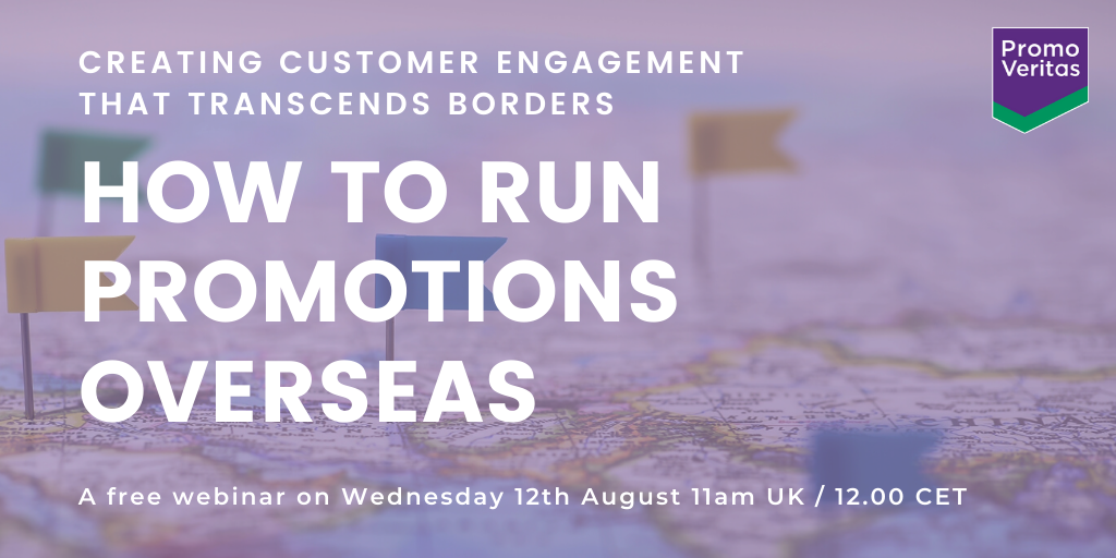 How to run promotions overseas
