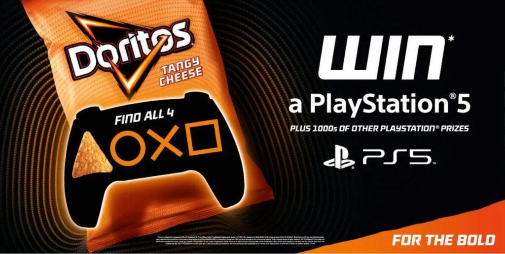 Doritos prize promotion